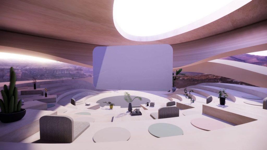 Spatial auditorium VR