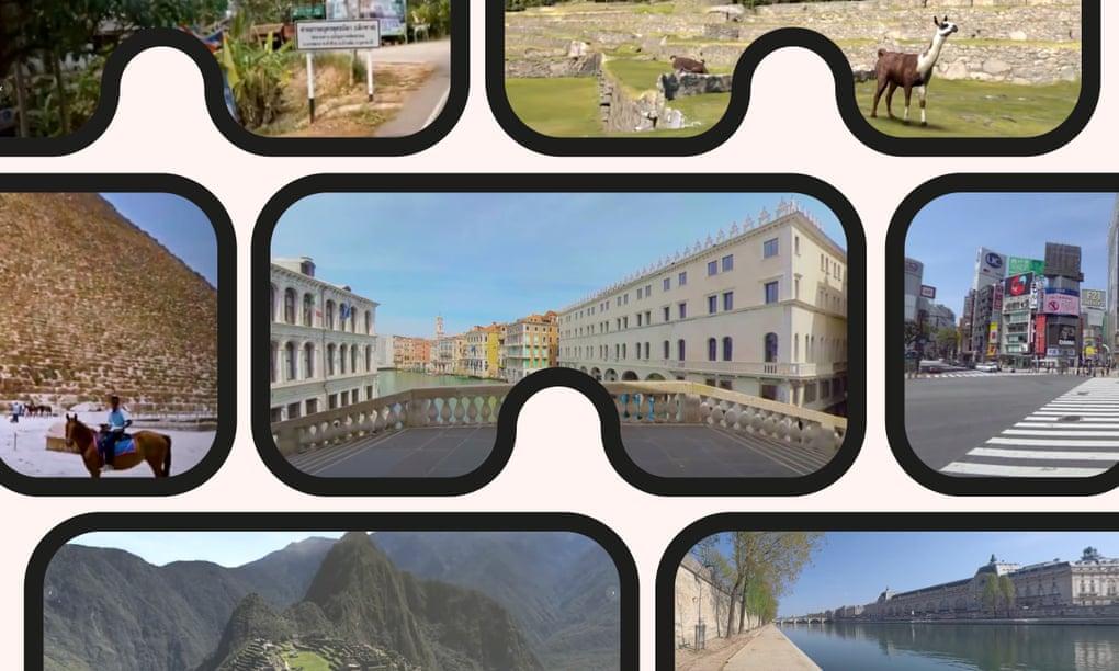 Tourisme en réalité virtuelle