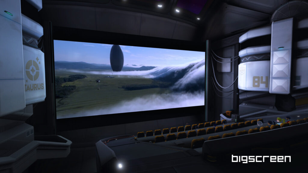 films VR gratuitement sur Bigscreen