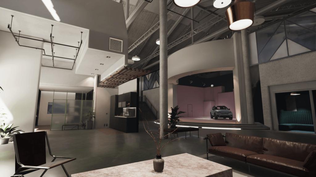 modèles numériques Unity et Volvo