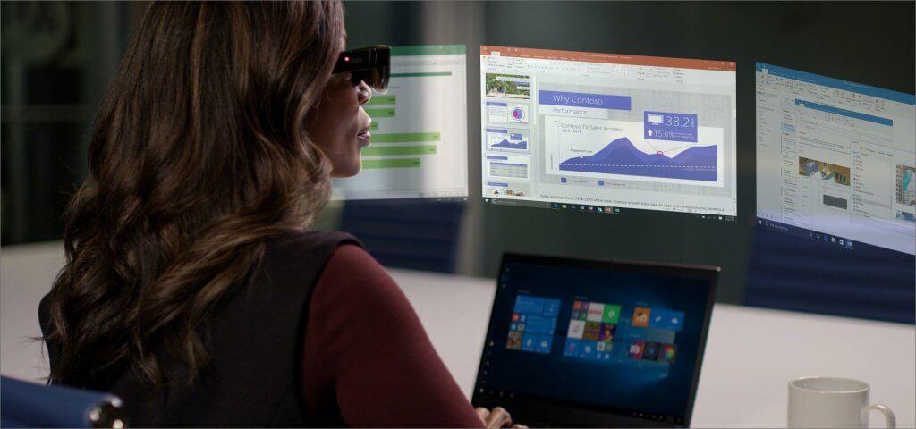 Lenovo et ThinkReality lunettes AR