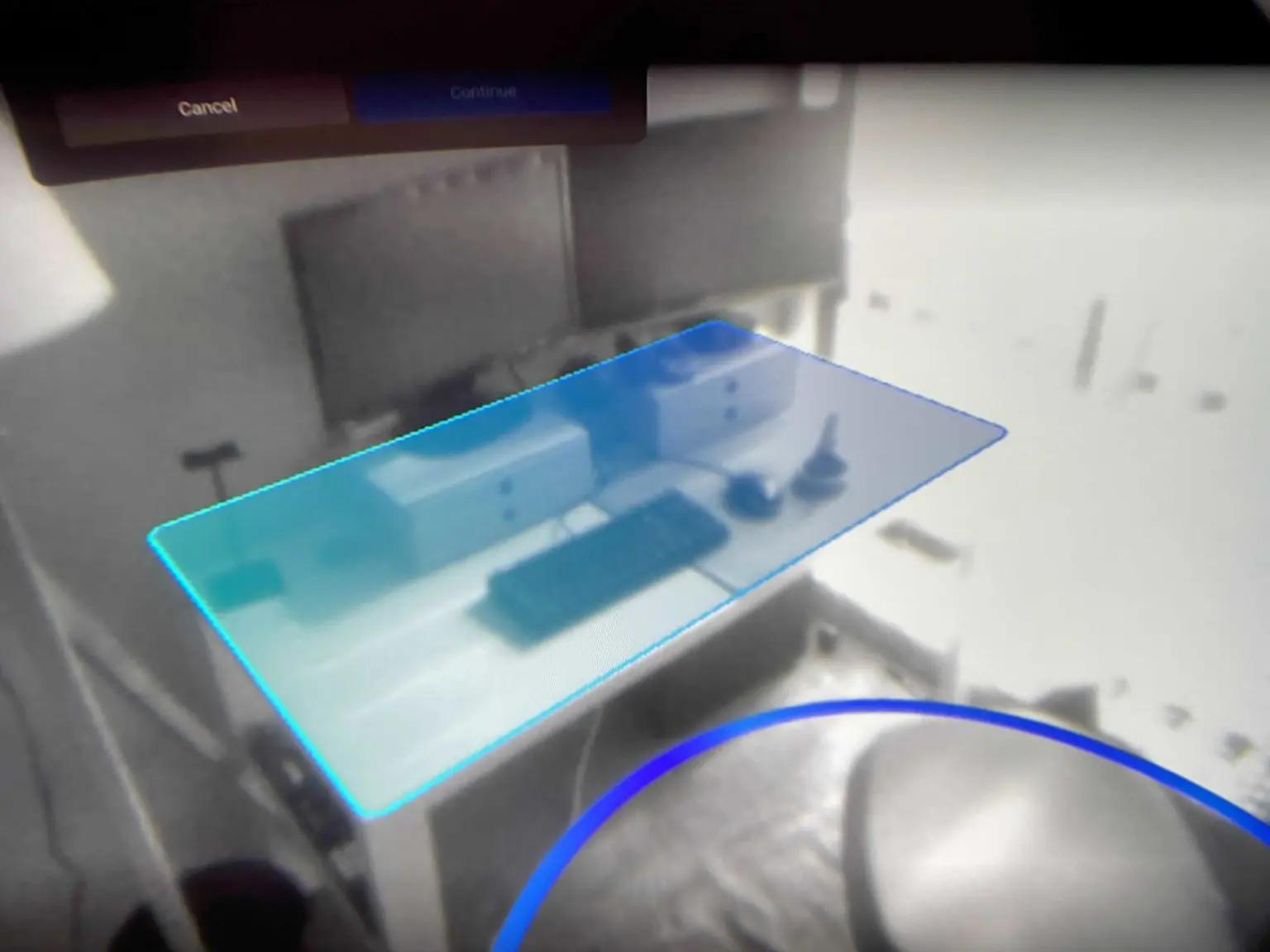 Bureau en VR Quest 2