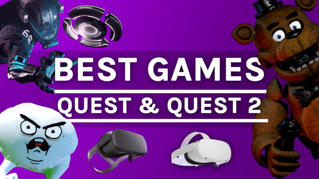 Meilleurs jeux pour Oculus Quest et Quest 2