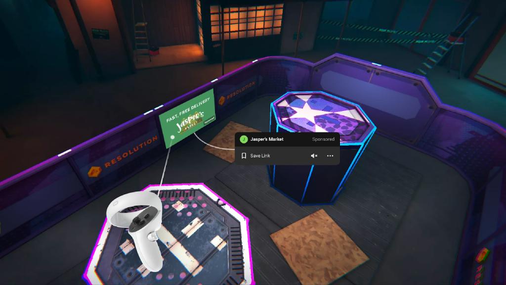 Facebook va peut-être introduire des publicités dans les jeux VR