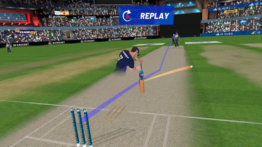 IB Cricket - Un jeu VR de sport