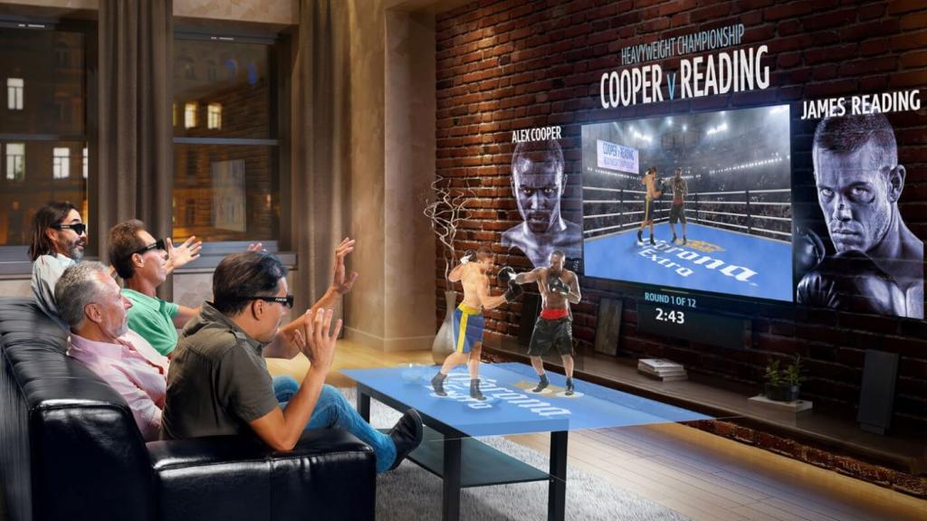 La réalité augmentée en direct pour les diffusions et les formations