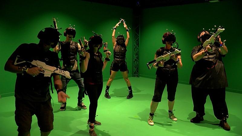 Sandbox VR vous permet de combattre des zombies, des aliens et des pirates