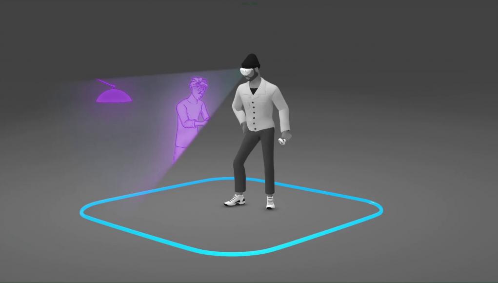 """La fonction """"Space Sense"""" de l'Oculus Quest vous alertera lorsque quelqu'un envahira votre zone de jeu"""