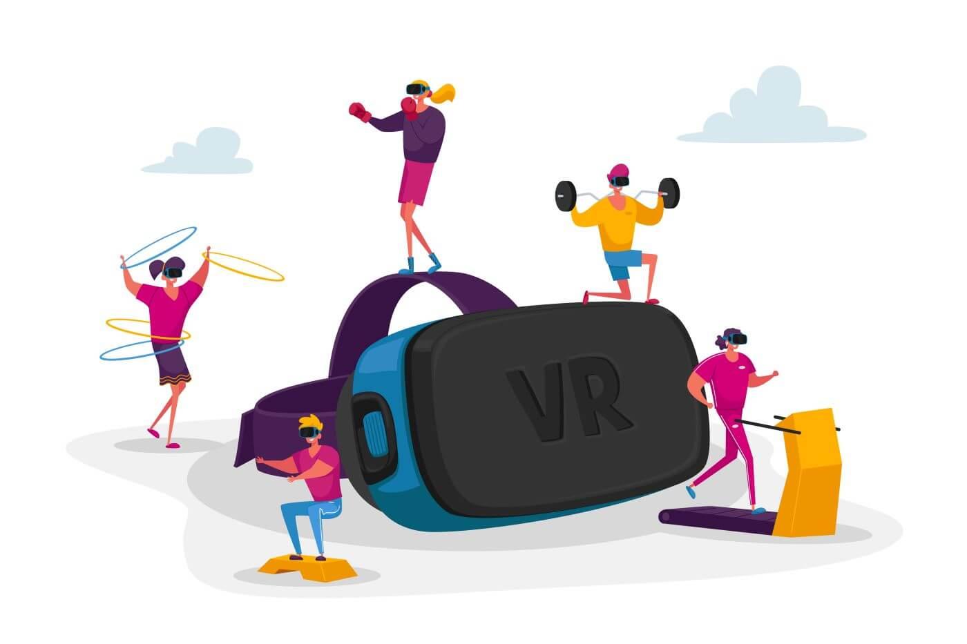 jeux de fitness VR