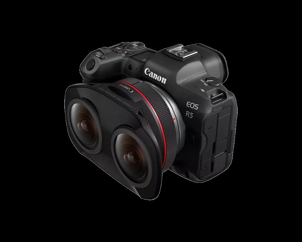 Canon lance un double objectif fisheye pour la capture de la 3D stéréoscopique en VR