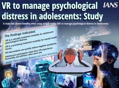 La RV pour gérer la détresse psychologique chez les adolescents : Étude