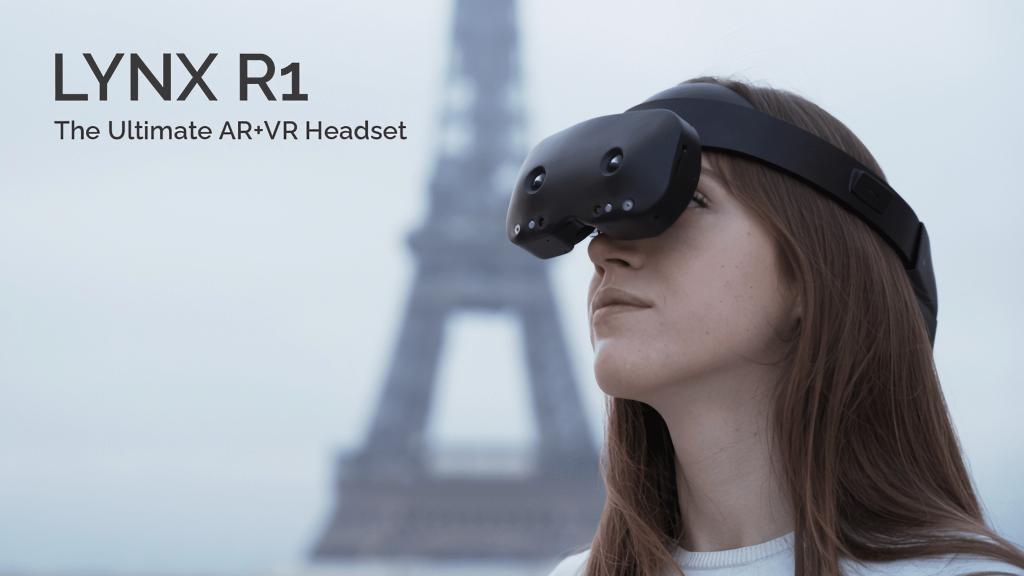 Lynx R casque VR/AR autonome